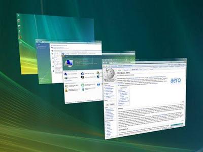 Windows Vista trazia a funcionalidade Aero