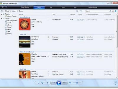 Media Player reformulado no Windows Vista